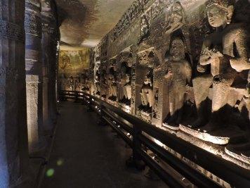 Inside Ajanta Caves
