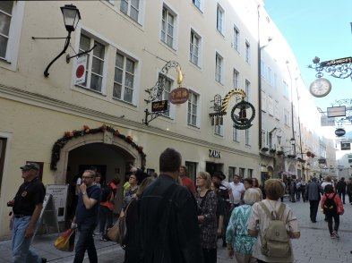 Getreidegasse Street