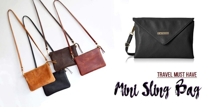 Travel Essential: Mini Sling Bag