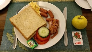 My breakfast in Salzburg.