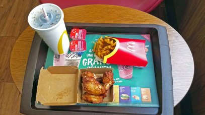 My McDonald's Meal for Lunch