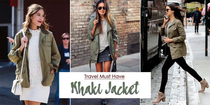 Travel Essential: Khaki Jacket