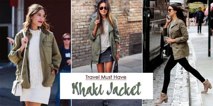 Travel Essential: KhakiJacket