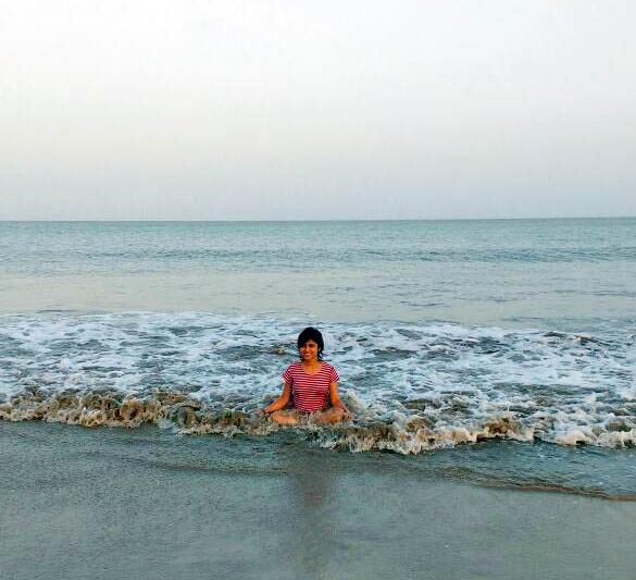 Me at Nagoa Beach