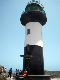 The Light House at Fort Diu