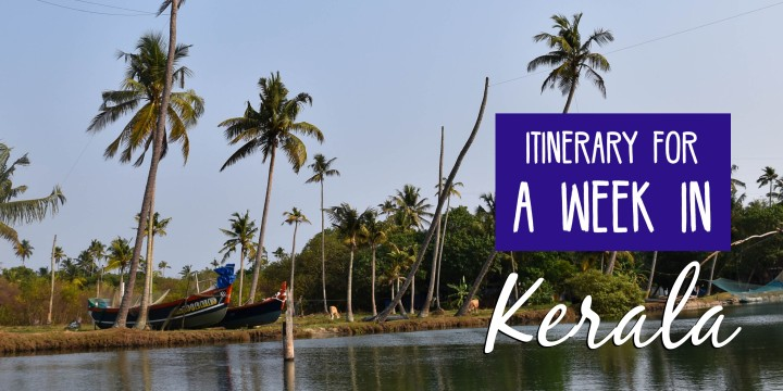 Itinerary for a week in Kerala